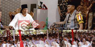 Ribuan Jemaah Banjiri Halaman Polres Lebong