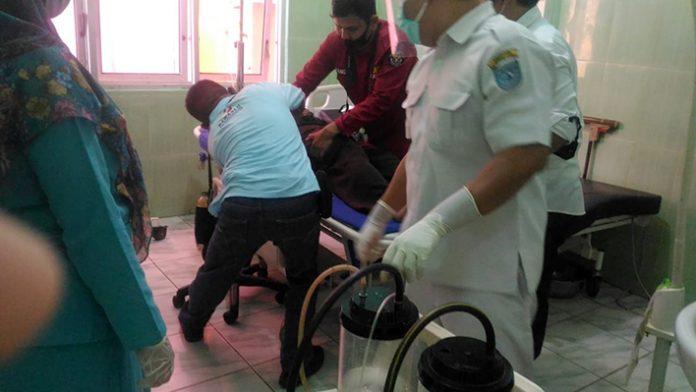 polisi di Bengkulu Utara Diserang OTD