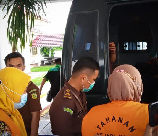 pejabat dishub kaur ditahan