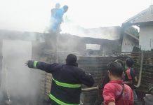 Kebakaran di Taba Saling