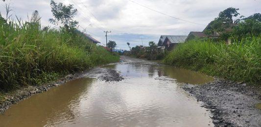 Jalan Desa Ranah Kurng - Warung Pojok